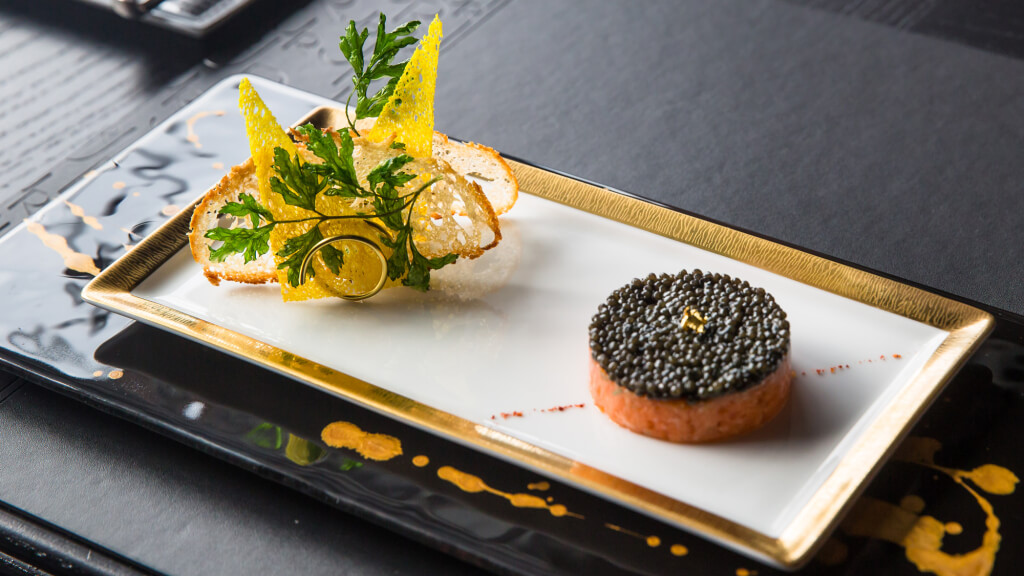 what is caviar made of